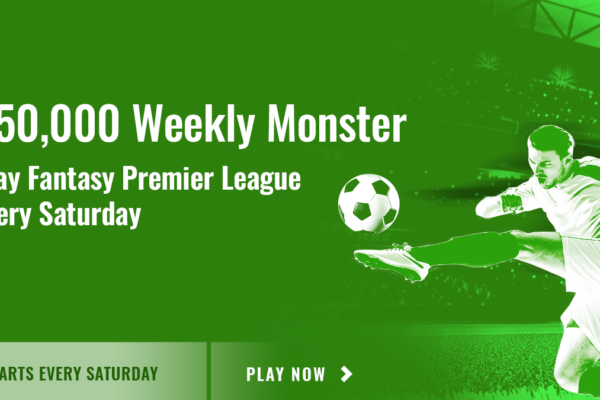 The €50,000 Weekly Monster with Fanteam! PLUS PLAY FOR €200 THIS WEEKEND FOR FREE IN THE ROOKIE PL FREEROLL!