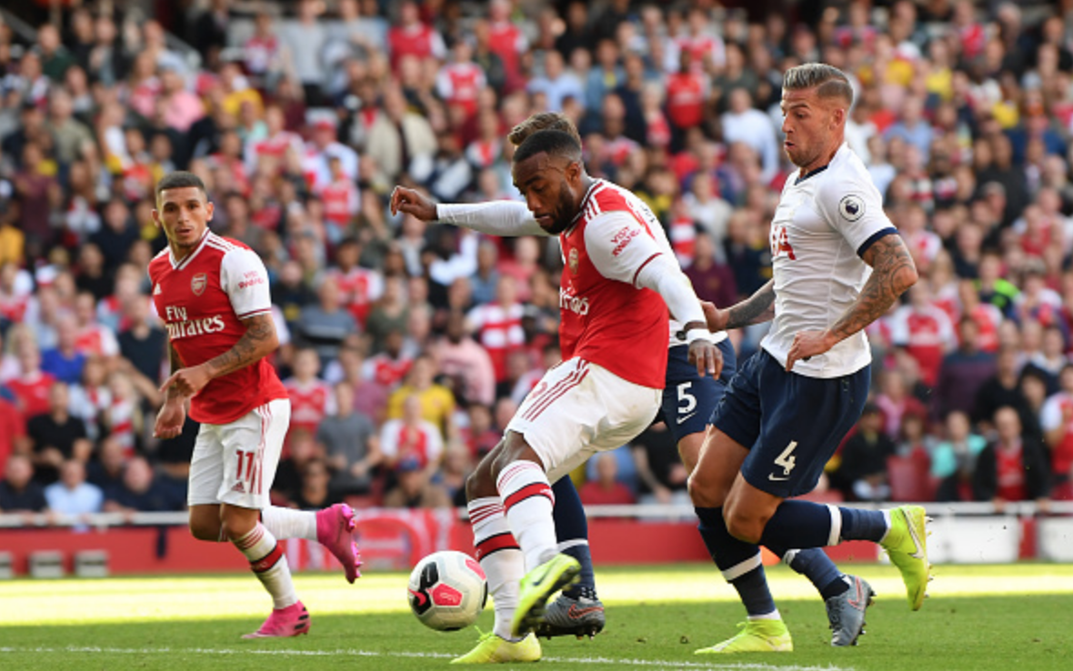 Arsenal impress as Unai Emery's men fight back in North London derby